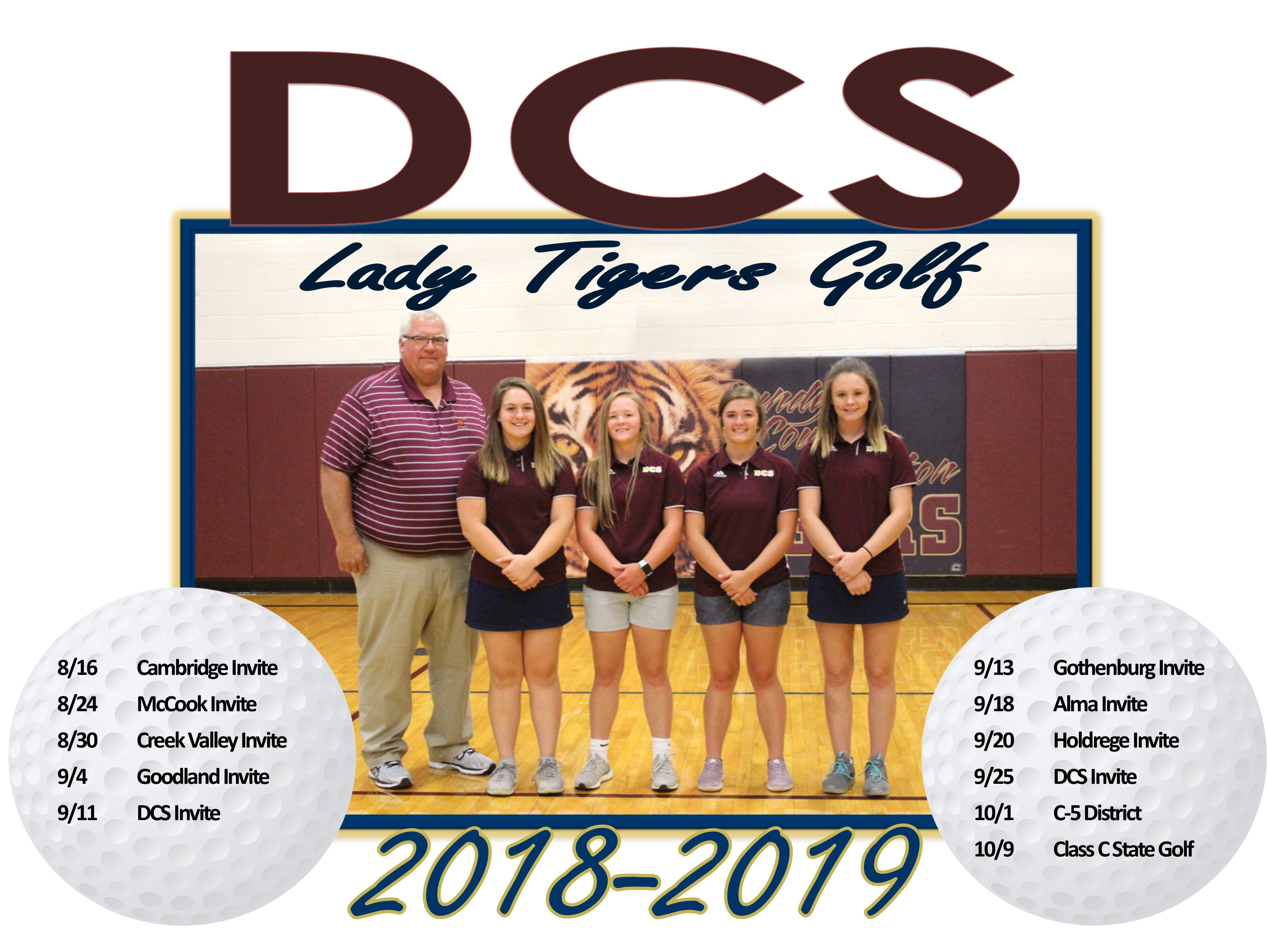 DCS Girls Golf Team